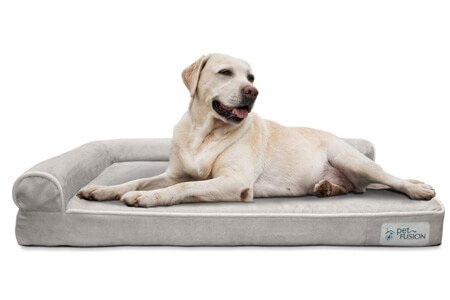 PetFusion BetterLounge Dog Bed – Best odor resistant dog bed
