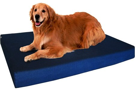 Premium Waterproof Orthopedic Memory Foam Dog Bed