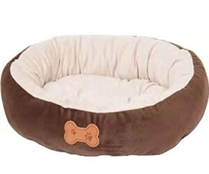 Aspen Pet Oval with Bone Applique – Puppy beds for small dogs