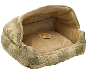 K&H Manufacturing K&H Pet Products Hooded Lounge Sleeper Pet Bed