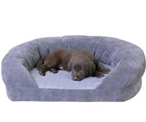 K&H Pet Products Ortho Bolster Sleeper – comfortable puppy bedding