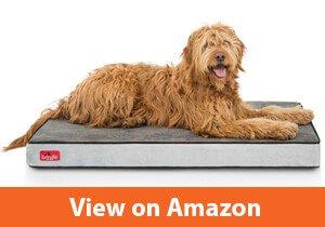 Brindle Memory Foam Orthopedic Dog Bed