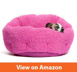 Best Friends Self-Warming Cat and Dog Bed Cushion for Joint-Relief and Improved Sleep – Machine Washable, Waterproof Bottom