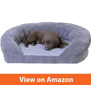 K&H Pet Products Ortho Bolster Sleeper Orthopedic Dog Bed