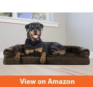 FurHaven Orthopedic Ultra Plush Sofa-Style Dog Bed