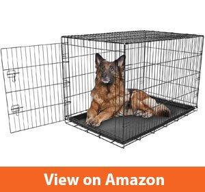 Carlson Pet Products Single Door Metal Dog Crate