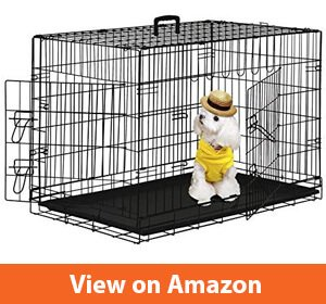 BestPet Wire Metal Folding Dog Cage Crate Kennel