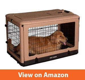 Pet Gear Steel Crate with Fleece Pad