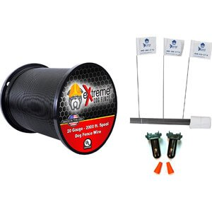 20 Gauge (AWG) Universally Compatible Electric Dog Fence