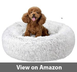 FuzzBall Fluffy Luxe Pet Bed