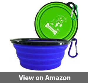 Peanut's XL Collapsible Dog Bowls