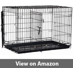 Precision Pet Great Crate Double Door Dog Crate