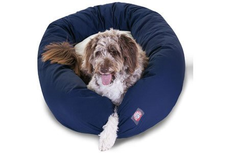 Majestic Pet Poly-Cotton Sherpa Dog Bed